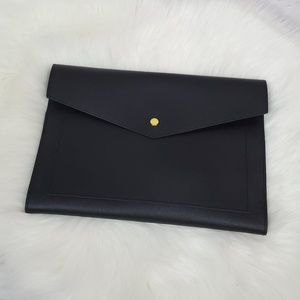 Glass Ladder & Co vegan leather portfolio clutch